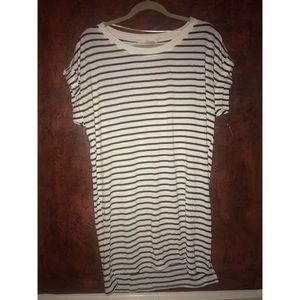 Ellison Striped Piko Style Dress